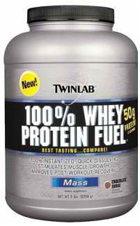Twinlab 100% Whey Protein Fuel 2268г