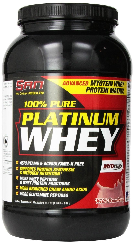 SAN 100% Pure Platinum Whey 897г