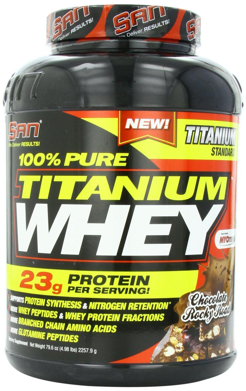 SAN 100% Pure Titanium Whey